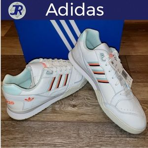 👟ADIDAS AR Trainer Shoes White-Mint-Orange-NEW
